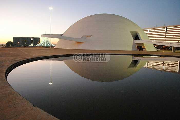 Museu Nacional Honestino Guimarães, Brasilia - National Museum, Brazil