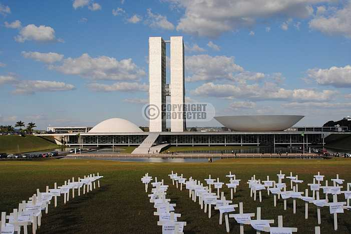 Congresso Nacional, Brasilia  - National Congress, Brasilia, Brazil