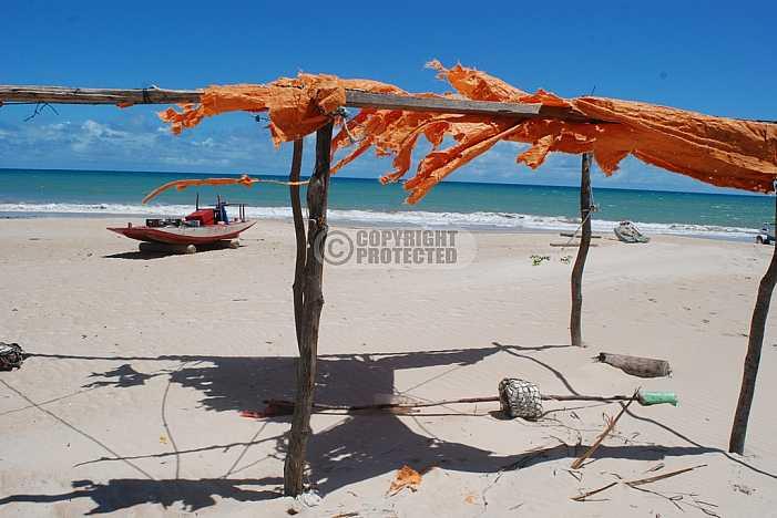 Praia de Caraubas - Caraubas beach