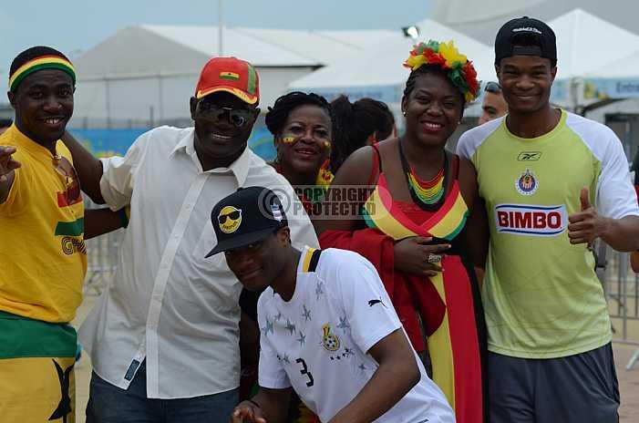Torcedores de Gana