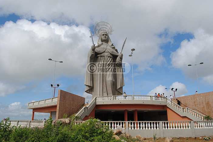 Santa Rita de Cassia, monumento - Santa Rita de Cassia, Monument