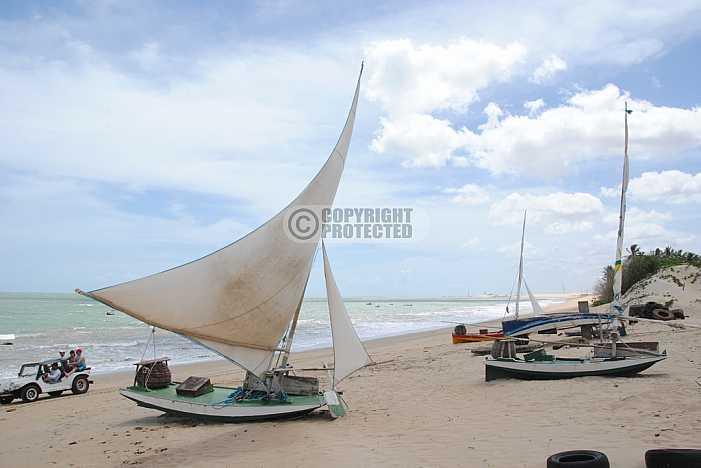 Praia de Exu Queimado - Exu Queimado beach