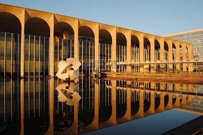 Palacio Itamaraty, Brasilia - Itamaraty Palace, Brasilia, Brazil