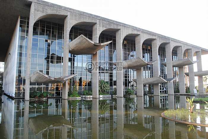 Palacio da Justiça, Brasilia - Palace of Justice, Brazil