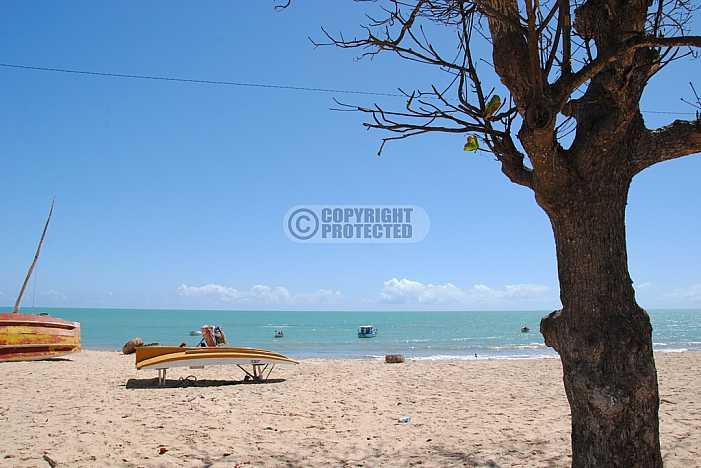 Exu Queimado - Exu Queimado beach