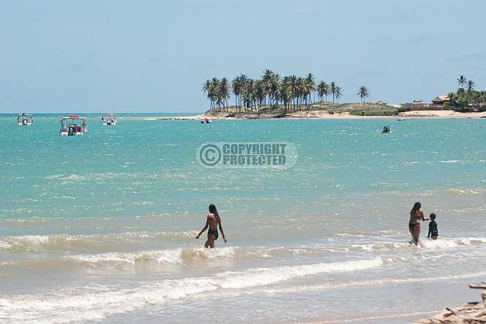 Praia de Maracaujau - Maracajau beach