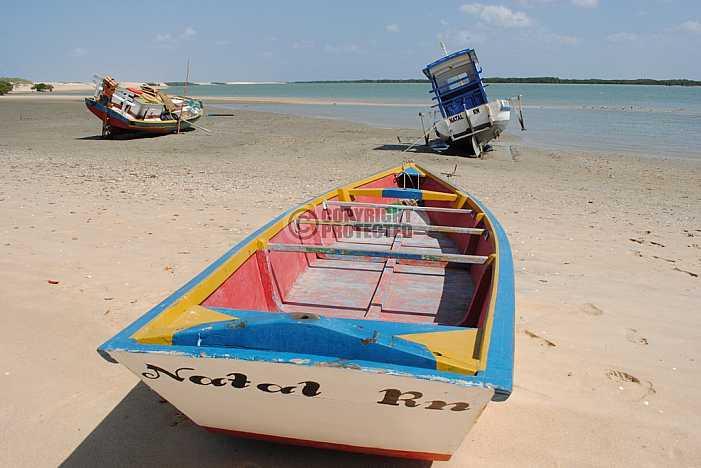 Praia de Galinhos - Galinhos beach